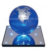 presentoir-levitation-globe-base-miroir-inoxydable-8-leds-M007B-6T