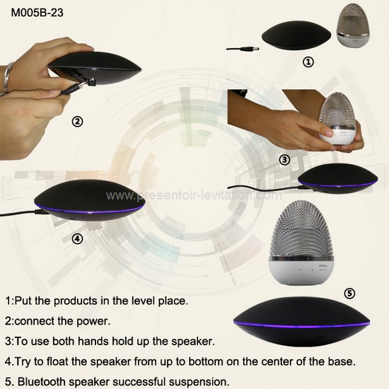 haut-parleur-levitation-3 haut-parleur bluetooth
