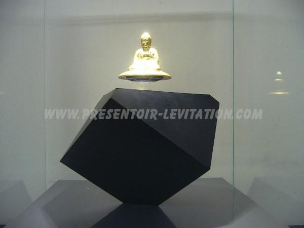 présentoir sur pied - présentoir à lévitation faisant flotter une statuette