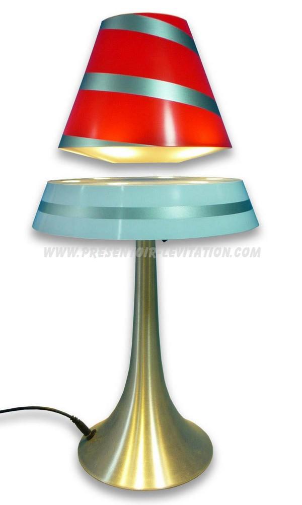 Présentoir lévitation lampe