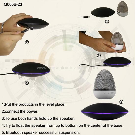 Haut-parleur bluetooth - mode d'emploi de l'enceinte