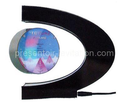 cadre photo -cadre en ellipse avec photo flottant à l'extrémité