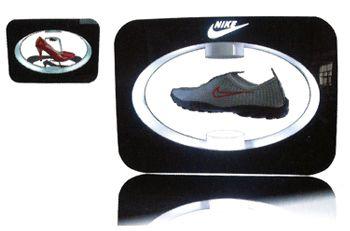 présentoir pour magasin - présentoir à lévitation pour chaussures